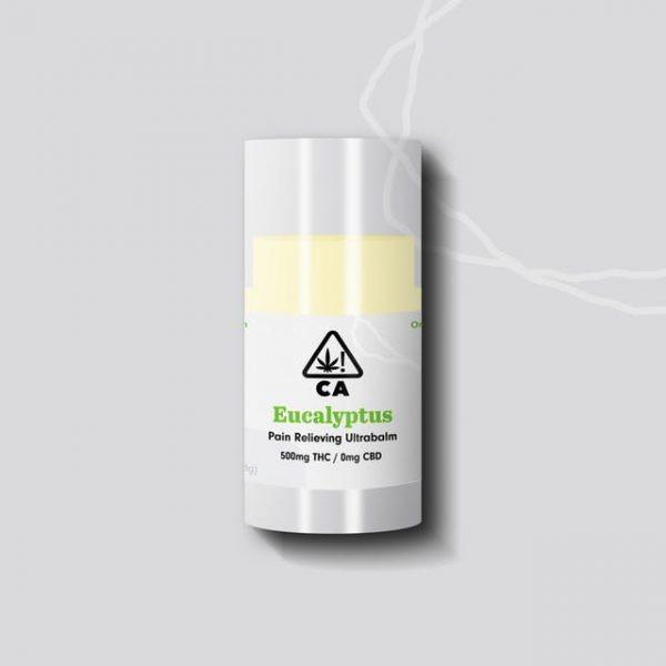 219357 TCF Balms Mock THCEucalyptus 600x600 - Eucalyptus Pain Relieving Ultrabalm THC 500mg