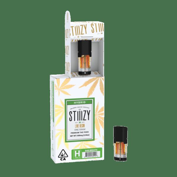 269833 STIIIZY 1g Gold Pod   Dub Breath  H  1 - Live Resin Sauce