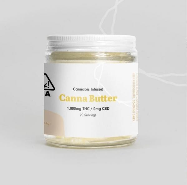 Cannabutter 600x594 - Canna Butter 1000mg THC