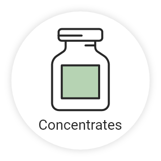 Concentrates icon - Home
