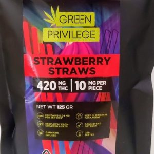 GP 420 Strawberry Straws 300x300 - Edibles