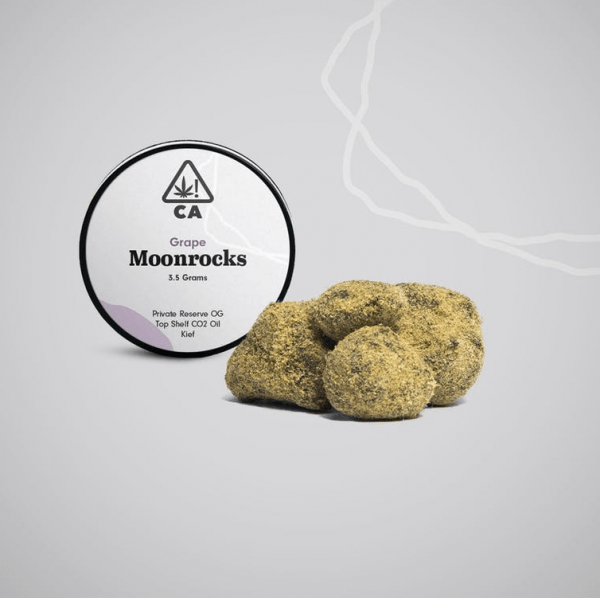 Grape Moonrock 600x598 - The Cookie Factory Grape Moonrocks 3.5g