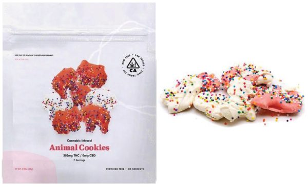 Menu Photo Edibles Animal COokies 2 - Edibles