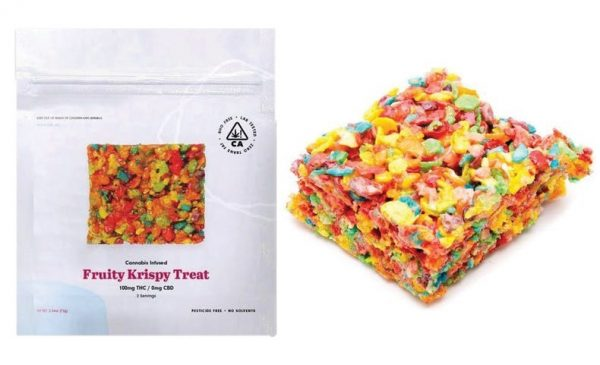 Menu Photo Edibles Fruity Krispie Treat 2 - Edibles