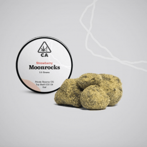Strawberry Moonrocks 300x300 - The Cookie Factory Strawberry Moonrock 3.5g