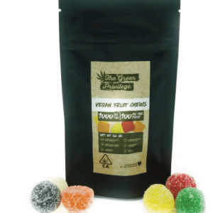 The Green Privilege fruit chew Vegan 300x300 - Edibles